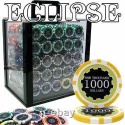 1,000 Ct Custom Breakout Eclipse 14 Gram Chip Set Acrylic