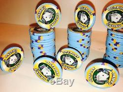 100 Paulson Hat & Cane Outback $1 Poker Chips