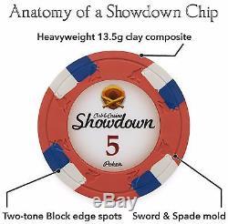 1000-Count Poker Chip Set withRolling Case, Cards, DiceSundownCasino Grade