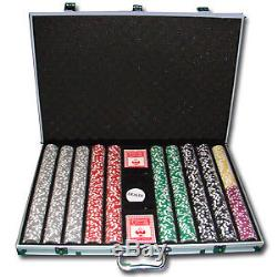 1000 Ct Yin Yang 13.5g Aluminum Casino Poker Chips Set + Storage Case