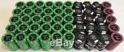 1000 Jack Casino Paulson Poker Chips Set