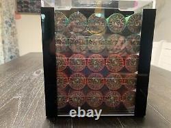 1000 Nevada Jack Ceramic Poker Chips Cash Game Set Acrylic Carry Case