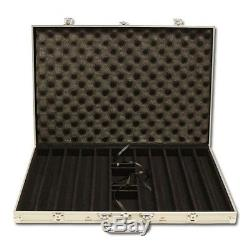 1000 Piece Bluff Canyon 13.5 Gram Clay Poker Chip Set with Aluminum Case (Custom)