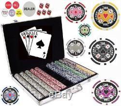 1000 Vegas Style Casino Stardard Chip 11.5 gram Poker Chips Pro Tournament Style