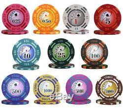 1000pcs 14G YIN YANG CASINO POKER CHIPS BULK Choose Denominations