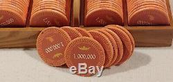 1300+ custom Poker Chip set