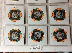 1995 Binion's Horseshoe Casino Chip Token Set #9/2000 Poker Hall of Fame