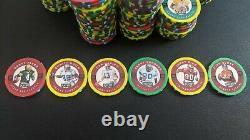 1997 Playoff First & Ten Chip Shots Complete Set (250) Football Poker Chip Coins