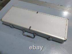 2 Premium Rondelo Poker Chip Set with Aluminum Case