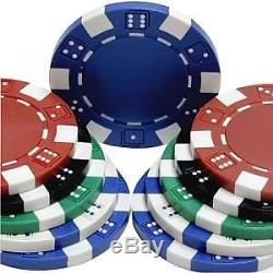 2000 Clay Composite Dice Poker Chips Standard Dice Suite 11.5 Gram Casino Weight
