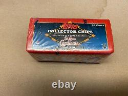 2004 Topps Collector Chips St Louis Cardinals Set Ultra Rare Yadier Molin