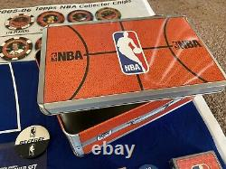 2005-06 Topps NBA Poker Chip Themed Complete Set. See Description