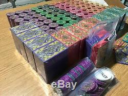 2200+ Pcs A 1 of a Kind Set Poker Chips & Plaques RARE New Unused