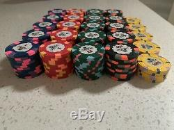 225 CHIPS Classic WTHC Top Hat and Cane Paulson Chip Set VERY HARD TO GET