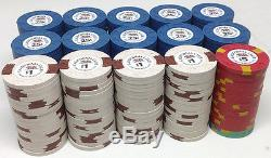 300 Asm New Chips California Club Commemorative Diecar Poker Chip Set Las Vegas