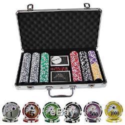 300 Casino Table Hi Roller Poker Chips Set