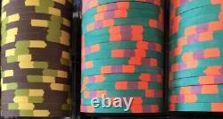 300 Paulson Poker Chip Set Horseshoe Southern Indiana