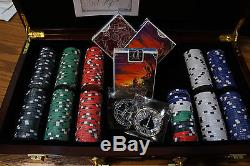 300-chip Name of the Wind-themed Poker set, limited edition, with 3 decks