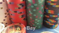 330 Paulson President New Yorker Poker Chips Set Rare
