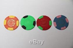 387 Paulson poker chips set