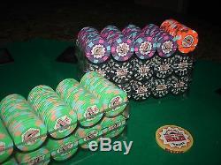 500 Casino Aztar (Evansville) Paulson Poker Chip Set