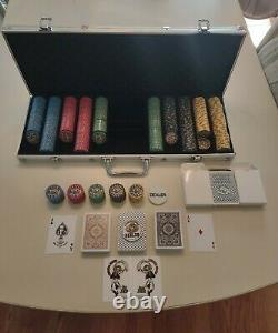 500 Count Nevada Jack Poker Set