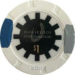 500 Horseshoe Casino Paulson Poker Chips Set