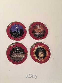 500 Paulson poker chip set, Horseshoe Cleveland. Instant cash game box