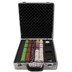 500 ct Bluff Canyon 13.5 Gram Casino Grade Poker Chip Set CG Aluminum Case