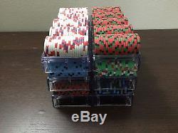 600 Aces Casino Arlington, WA Paulson Clay Poker Chips. Cash Game Set. Extras