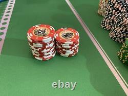 640 Poker Chip Set Casino Praga Bud Jones v7 Poker Chips