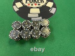 $71,325 Genuine Cleveland Horseshoe Casino Chip Set 1 5 25 100 500 Paulson Poker