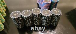 720 Paulson Horseshoe Cleveland OH Poker Chips Set $25000, $5000, $1000, $500
