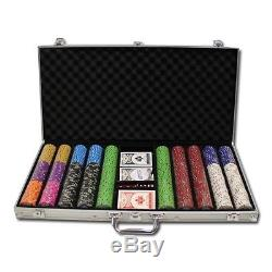 750 Piece Bluff Canyon 13.5 Gram Clay Poker Chip Set with Aluminum Case (Custom)