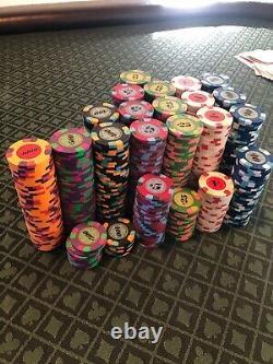 790 Classic Paulson Poker Chip set