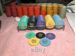 ASM/CPC Casino Quality 440 Hotstamped Tournament Poker Chip Set