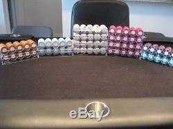 ASM Custom Poker Chip Set Vanderbilt Cardroom