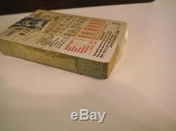 Antique 1920s Clay Poker Chip Set in Case Tax Stamp Card Deck US Playing Card Co