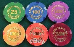 BCC Grand Cardroom Tournament Poker Chip Sample Set