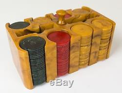 Bakelite Poker Chip Set