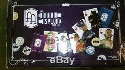 Batman DC Comics Arkham Asylum Poker Set Collector's Limited Edition 1000 Only