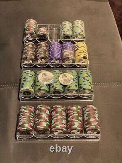 Blue Chip Company BCC Samurai Palace Clay Poker Chip Set