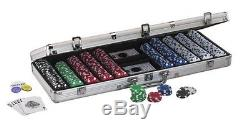 Brand New Fat Cat Hold Em Dealer Poker Chip Set 500 Chips New Free Shipping Now