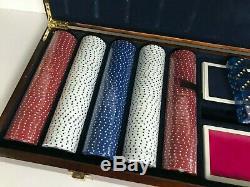Brooks Brothers Poker Chip Set NEW READ