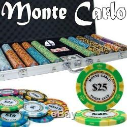 Brybelly Holdings PCS-2605 Pre-Pack 750 Ct Monte Carlo Chip Set Aluminum Case