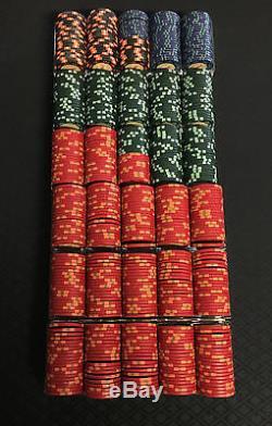 CARTAMUNDI CASINO ROYALE POKER CHIP SET 600 CHIPS ORIGINAL RUN BOND 007 RARE OOP