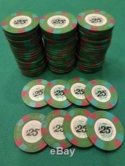 CASINO DE ISTHMUS. Paulson TH&C Casino chip set