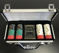 Caesars Palace Poker Chip Set Casino Las Vegas Rare