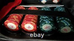 Cartamundi Clay Poker Set Casino Royale 007 James Bond