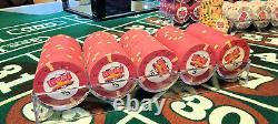 Casablanca Aruba Paulson casino chips 1040 chip set